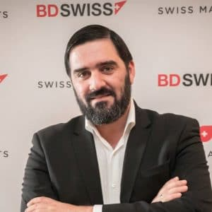 Gregory Papagregoriou, BDSwiss' Chief Risk Officer