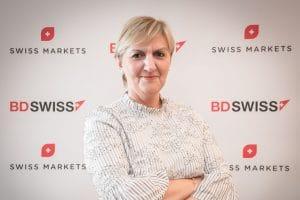 Executive Director at BDSwiss, Katalina Michael