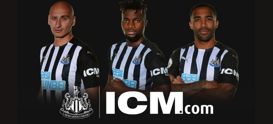 Icm Com Becomes Newcastle United S Sleeve Sponsor