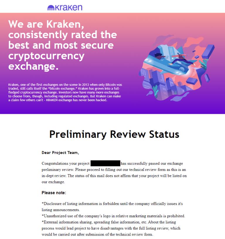 Scammers Are Impersonating Kraken Listing Staff on LinkedIn, Telegram