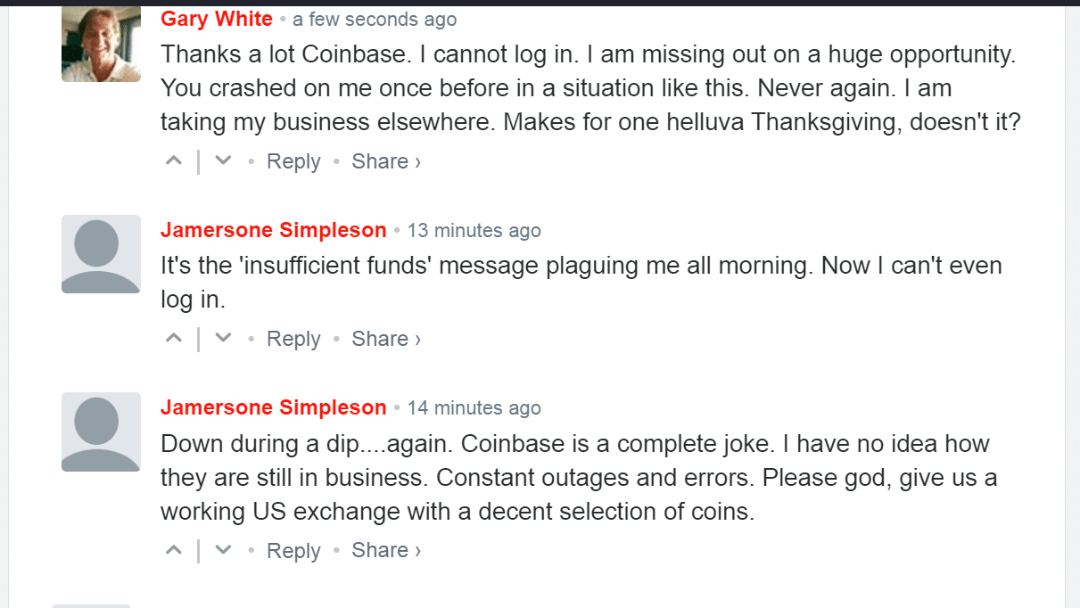 Coinbase Still Suffer Latency Issues Amid AWS Amazon Outage