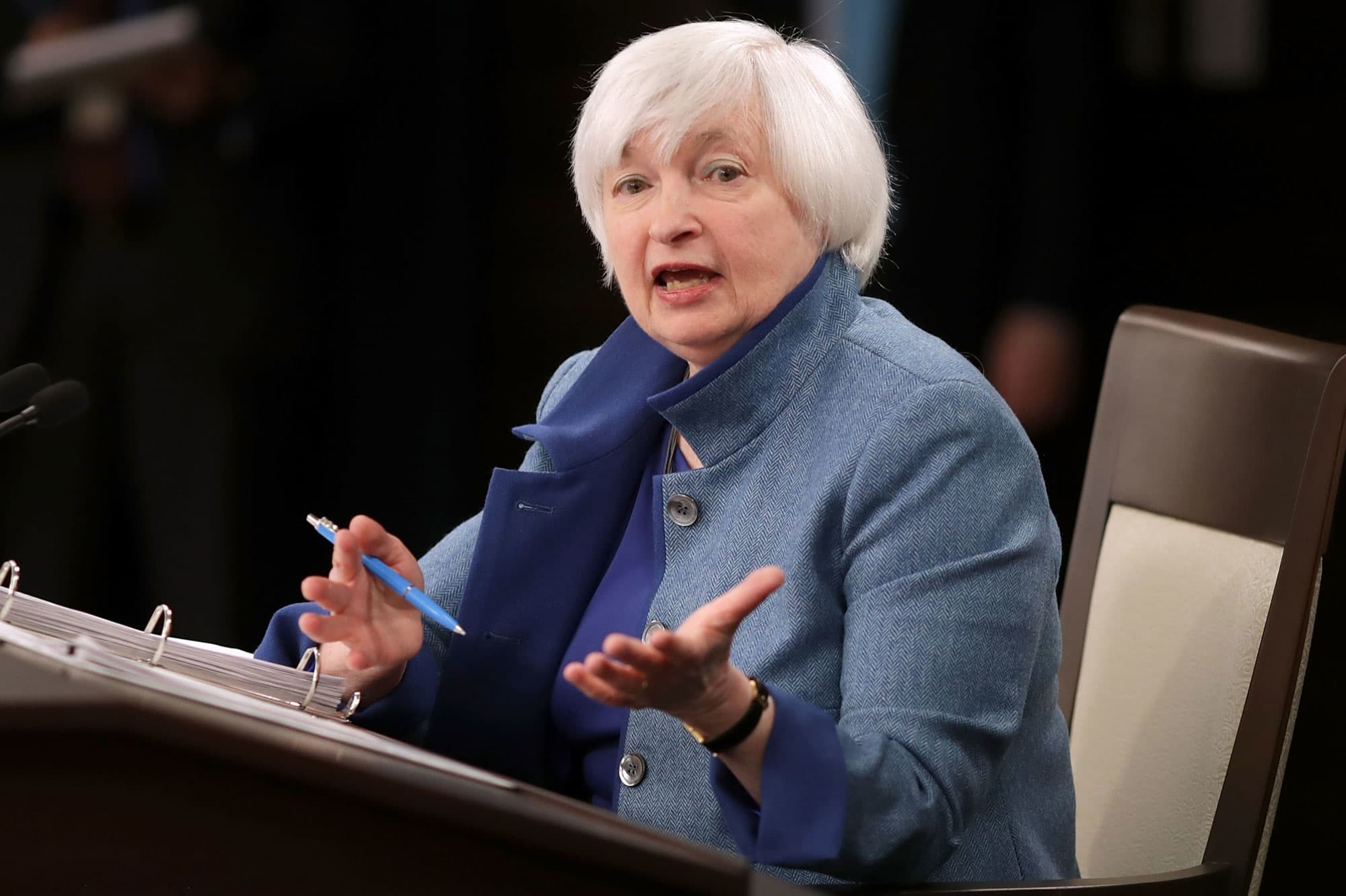 Janet Yellen Changes Tone on Cryptocurrency Assets