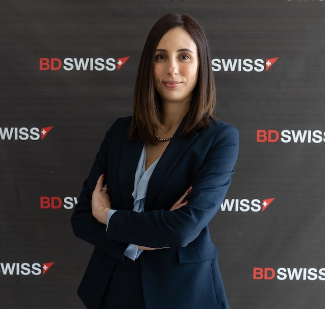 Christina Theodorou, Chief Projects Officer at BDSwiss