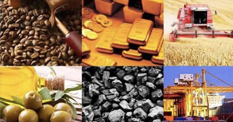 commodity prices weakening