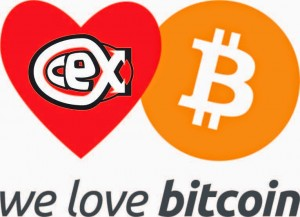 CeX loves Bitcoin