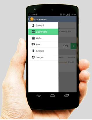 expresscoin mobile app