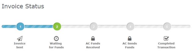 align commerce invoice status