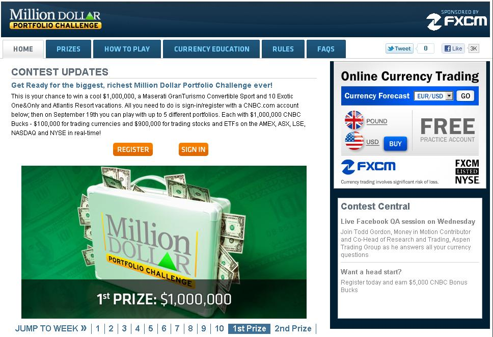 Forex million dollar challenge