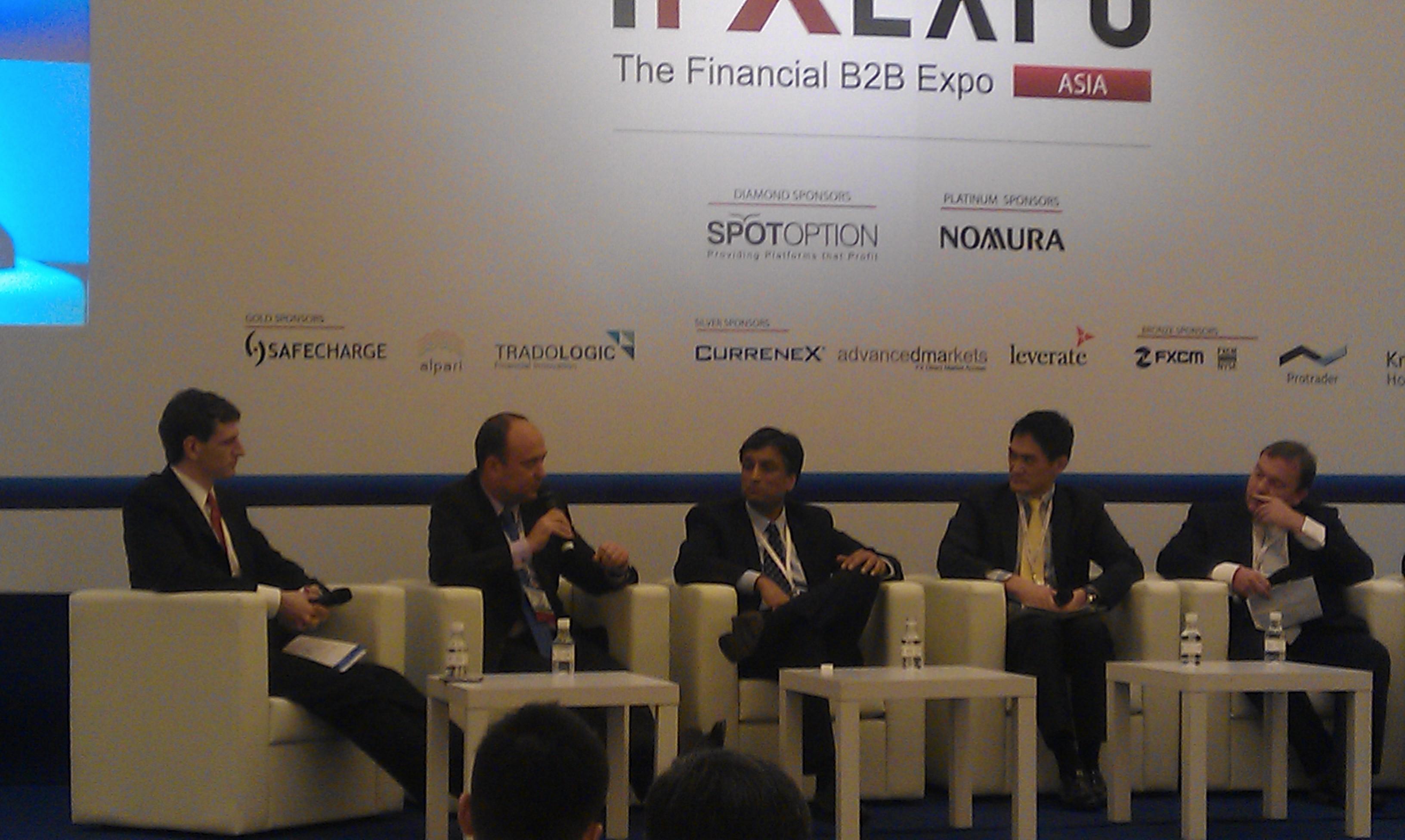 Liquidity Panel: Speakers Rob Fleschler, Alex Knight, Stephen Lynch, Darren Jer & Jon Barker