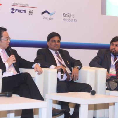 D K Aggrawal Managing Director of SMC Trade