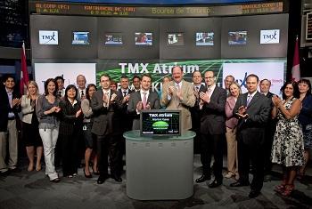 Toronto stock exchange options