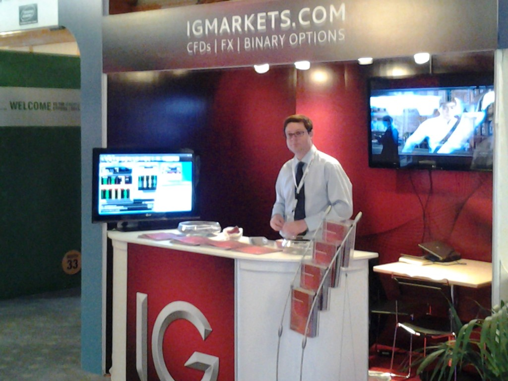 IG Group at the iFXEXPO