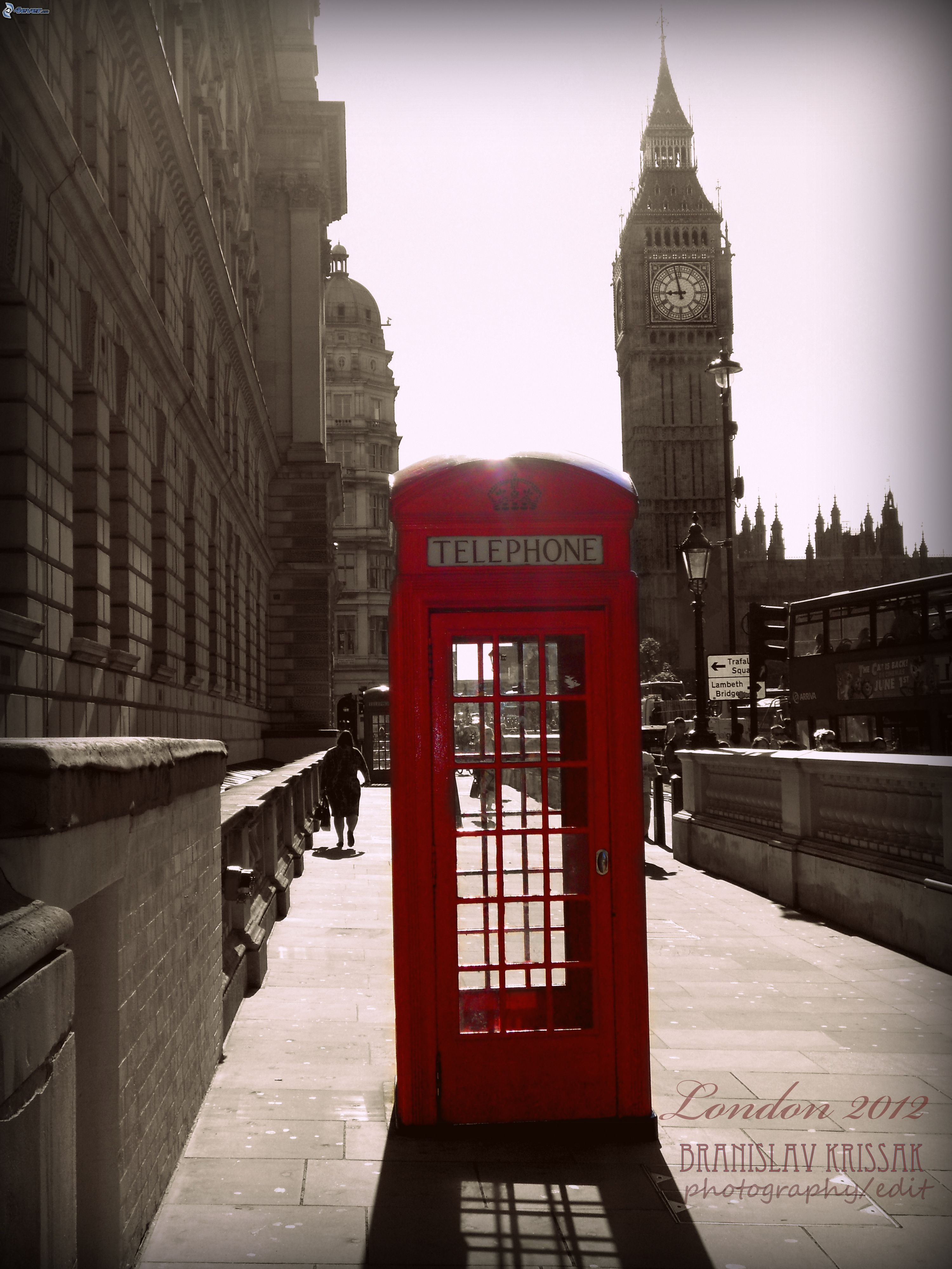 [pictures.4ever.eu] telephone booth, london 158963