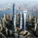 shanghai china skyscrapers
