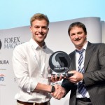 Mr. Jannick Malling receives the Forex Magnates Award