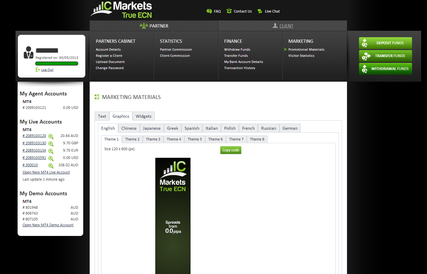 Ic markets forex