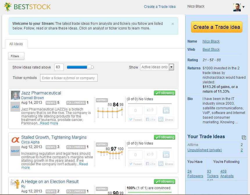 BestStock Trading Stream