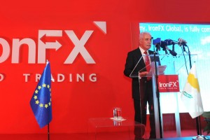 Opening Ceremony by Mr Peter Economides, Iron FX Global, Non-executive Director