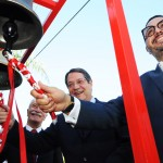 Ringing of the Bells during HQ opening ceremony