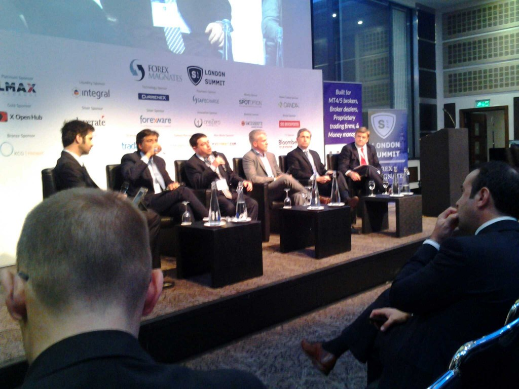 FX Liquidity Panel - Guess which of one these guys is working on a potential game changer in retail for 2014?