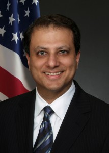 U.S. Attorney Preet Bharara of the Southern District of New York