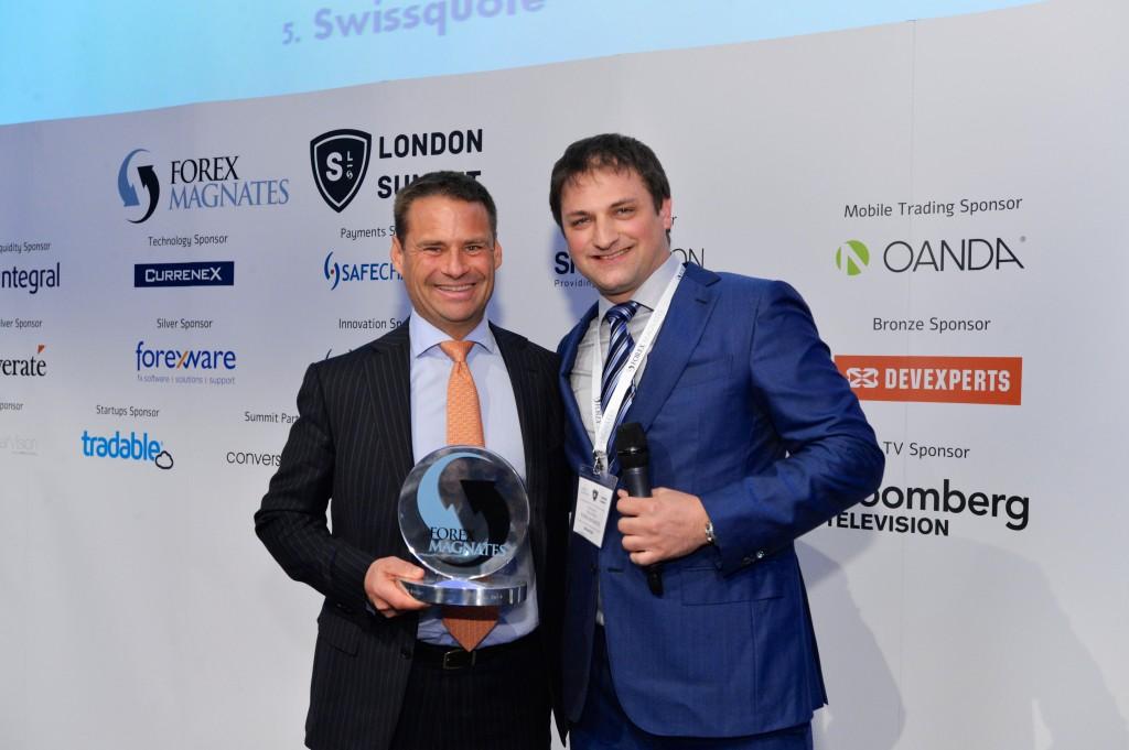 Saxo Bank taking the Best Broker award