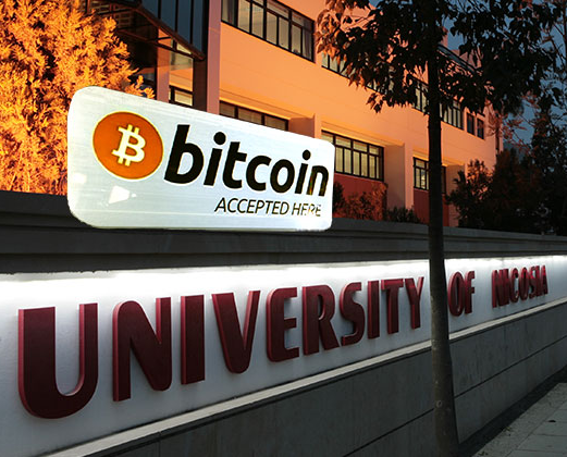 University of Nicosia Bitcoin
