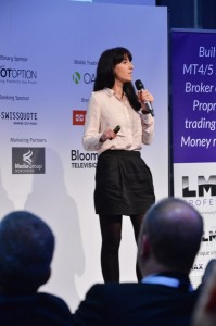 Mirjana Glavonjic presenting at London Summit