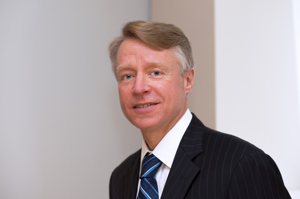 Ken Harvey Chairman CLS Group (effective October 2014)