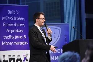 Travis Dahm, CurrentDesk, Presenting at London Summit