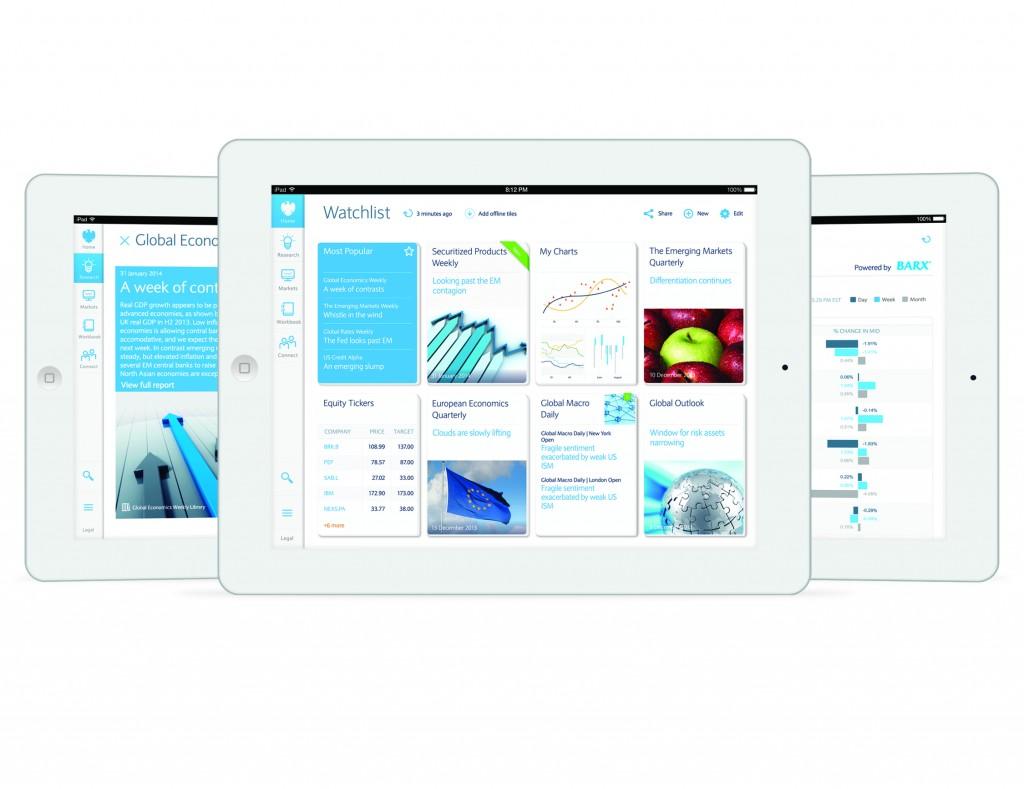 Barclays Live App for iPad [Source: Barcap.com]
