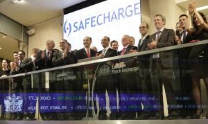 SafeCharge Debut at LSE