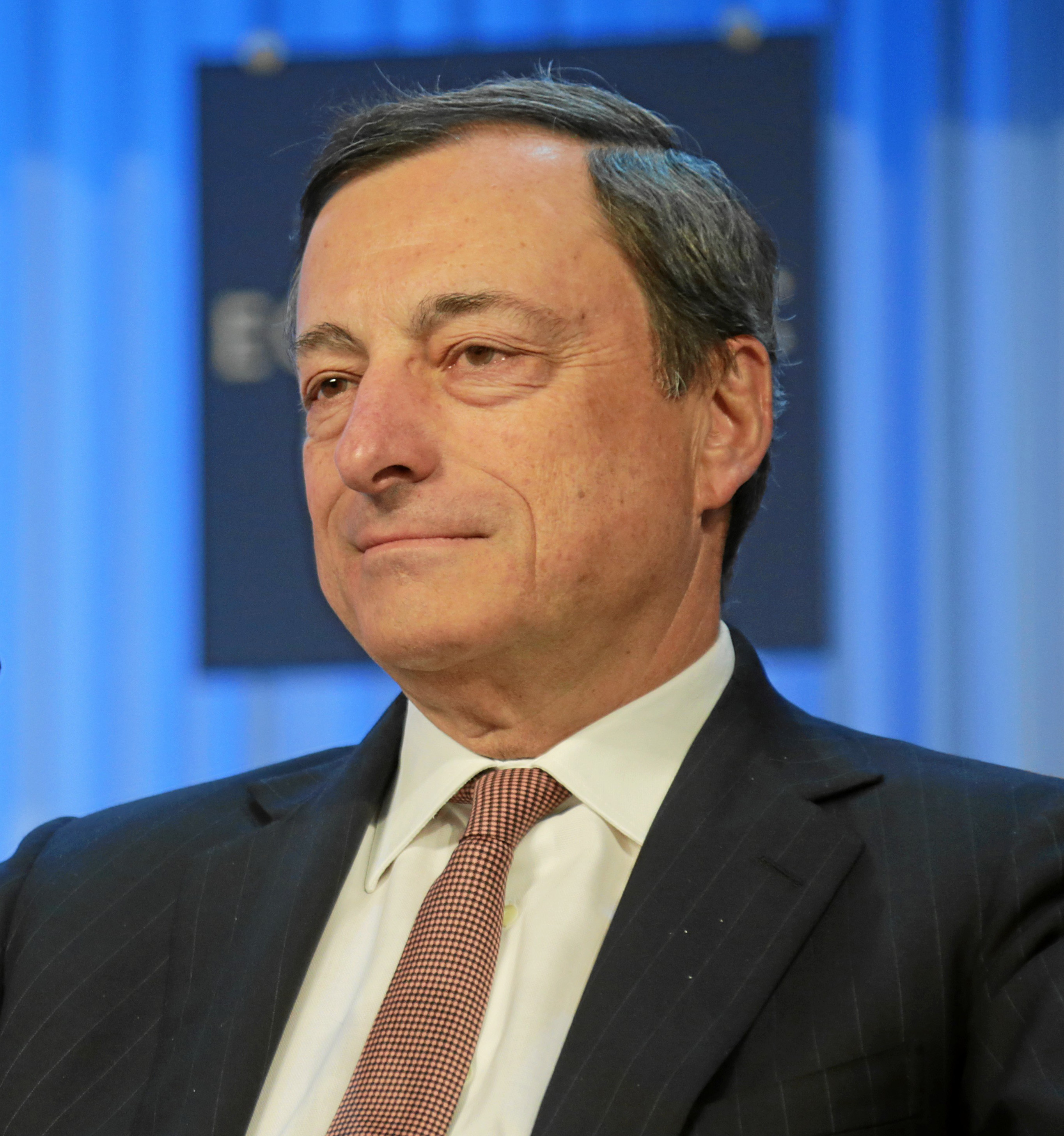 Mario Draghi, President of the ECB