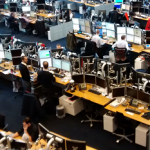 Saxo Bank Trading Floor
