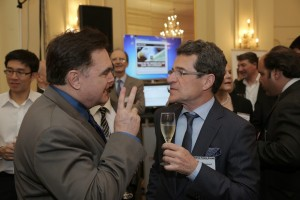 Random Networking at Geneva Forex Event,March 20 2014