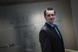 David Kasper, CEO of Purple Technology