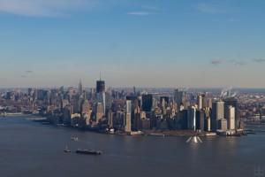 a Chinese destination? Manhattan skyline