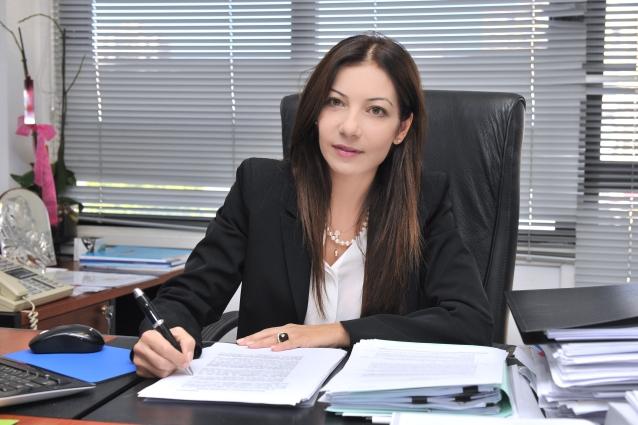 Demetra Kalogerou at desk