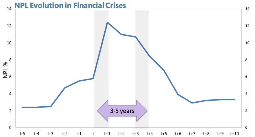 NPL Evolution In Financial Crises