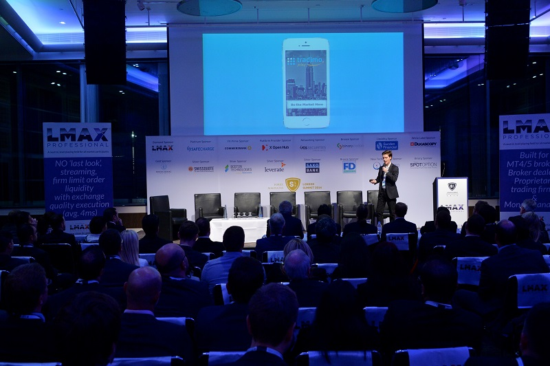Tradimo Play Launching at the Forex Magnates London Summit