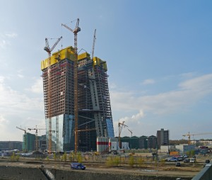 European_Central_Bank_-_new_building_under_construction_-_Frankfurt_-_Germany_-_14