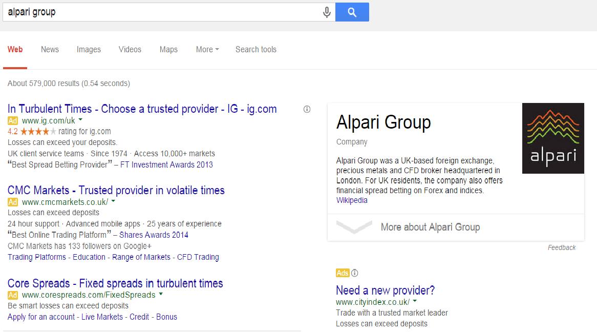 alpari brokers cooperating