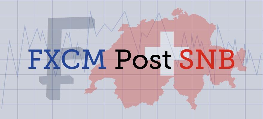 Forex Magnates FXCM Post SNB