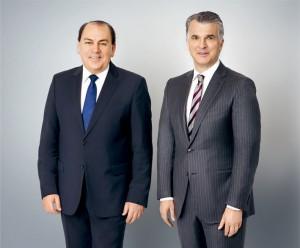 Axel A. Weber (Chairman) & Sergio Ermotti (CEO)