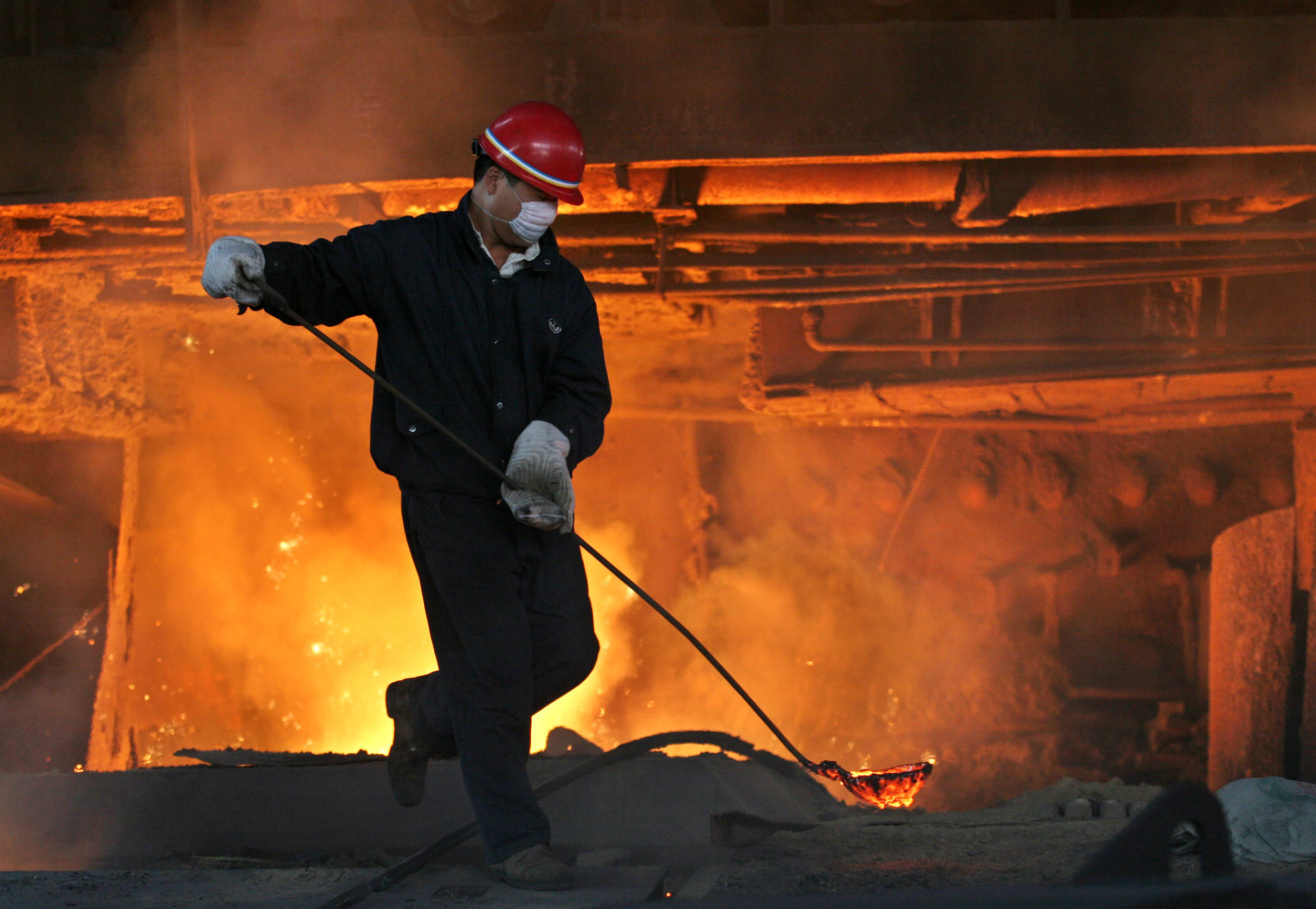 Bao Gang Steelworks, Baotou, Inner Mongolia, China (Photo: Bloomberg)