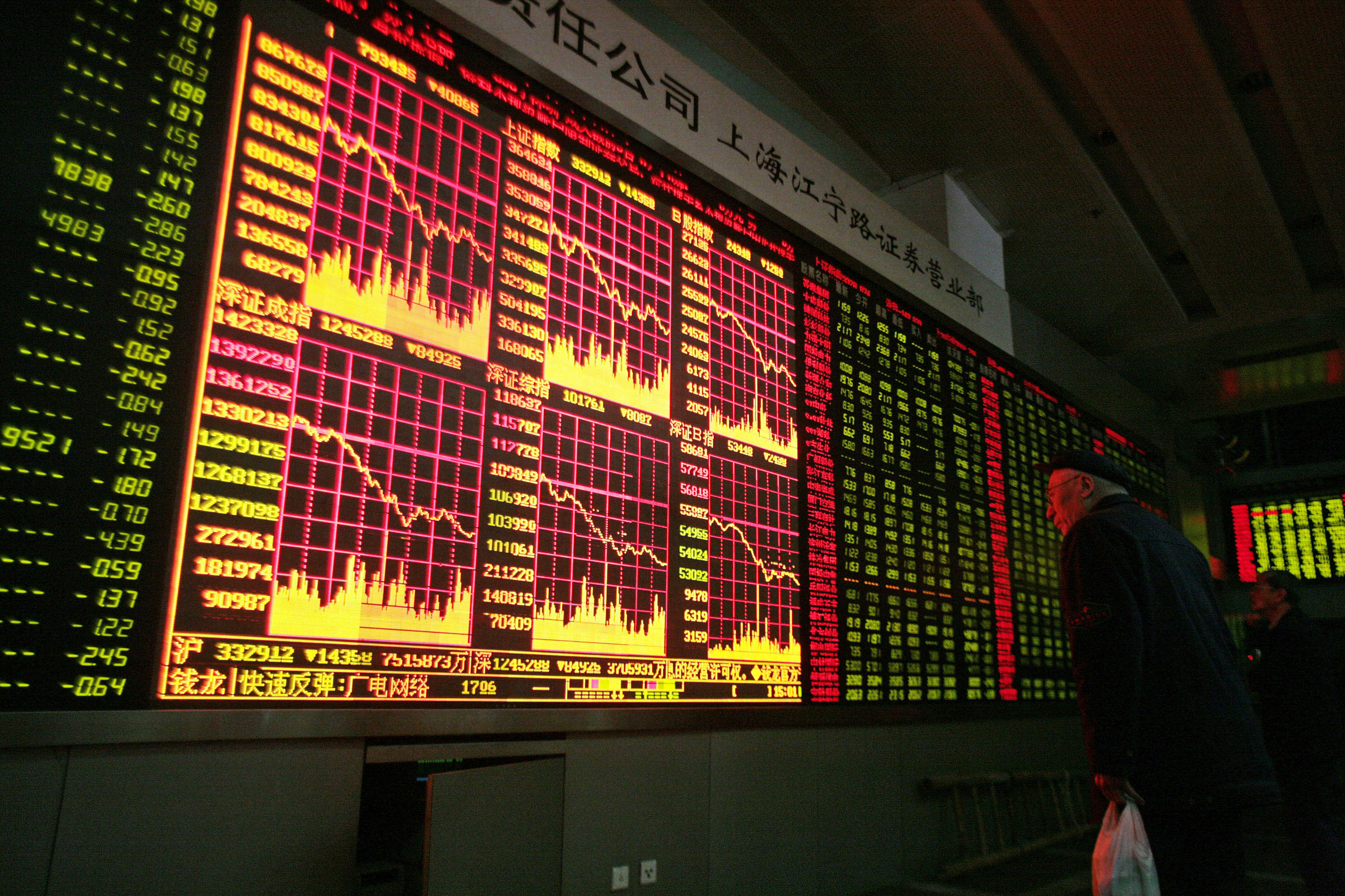 Shanghai Stock Exchange (Photo: Bloomberg)