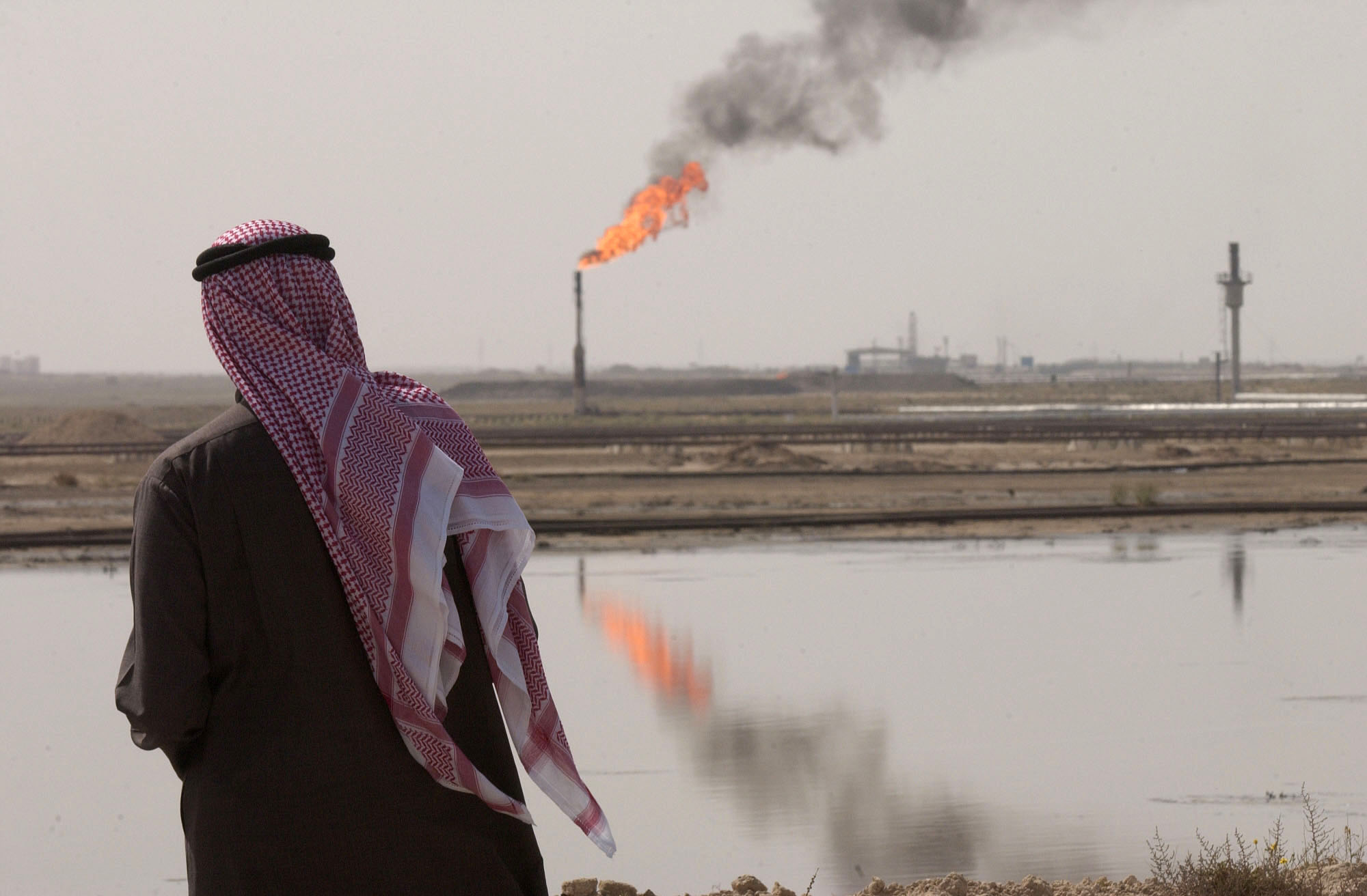 KUWAIT BURGAN OIL FIELD (Photo: Bloomberg)