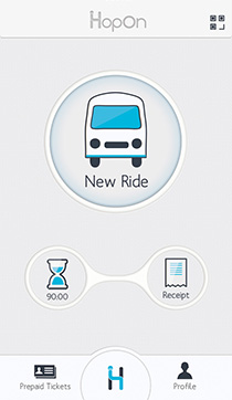 hopon public transportation app