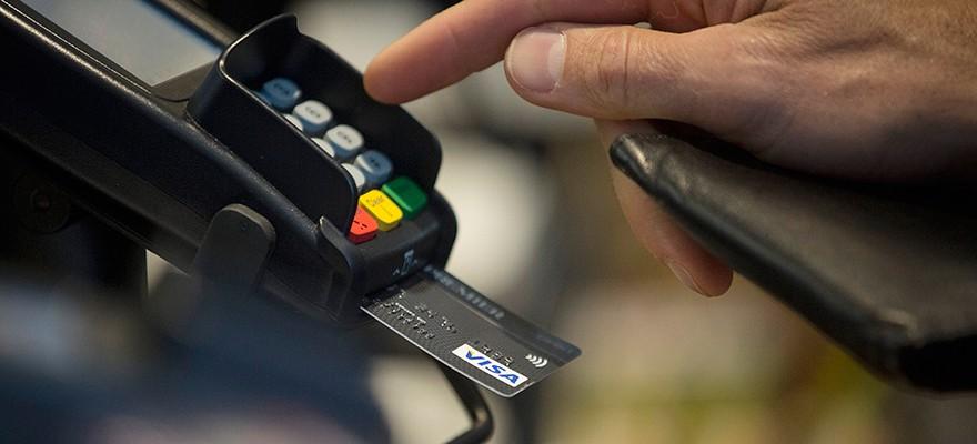 credit card POS terminal