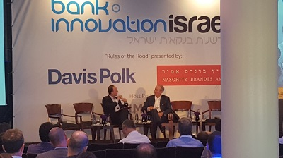 Tom Glocer interviewed at Bank Innovation Israel